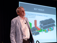 Keynote speaker Ian Wright, CEO of Wrightspeed and co-founder of Tesla Motors, opened the event...