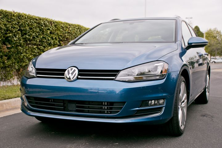 The Golf SportWagen TDI is powered by a 2.0L four-cylinder diesel.
