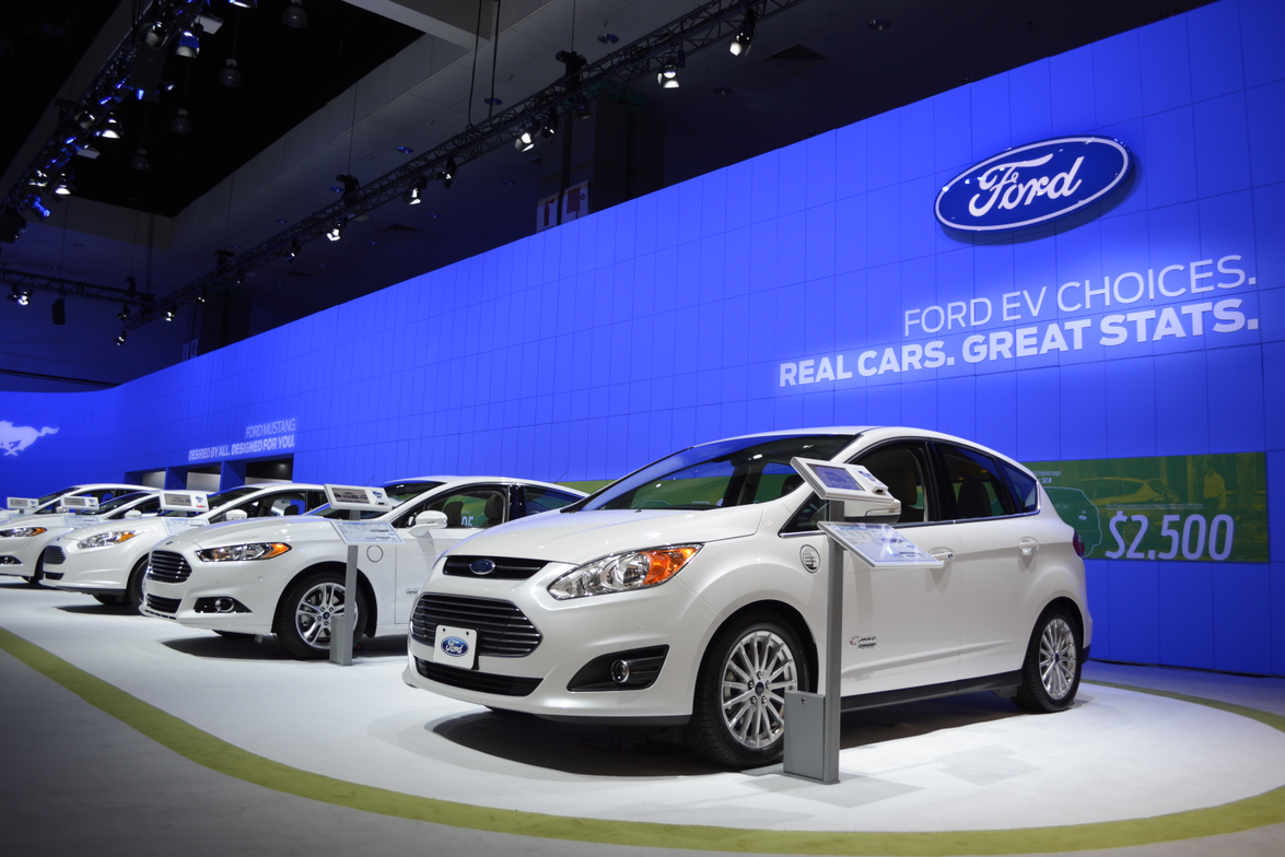Ford's hybrid and electric vehicles