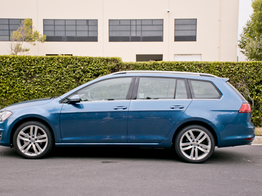 The Golf SportWagen is derived from the 2015 Golf's MQB platform rather than the Jetta's PQ35...