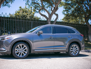 The CX-9 is available in front- or all-wheel drive.