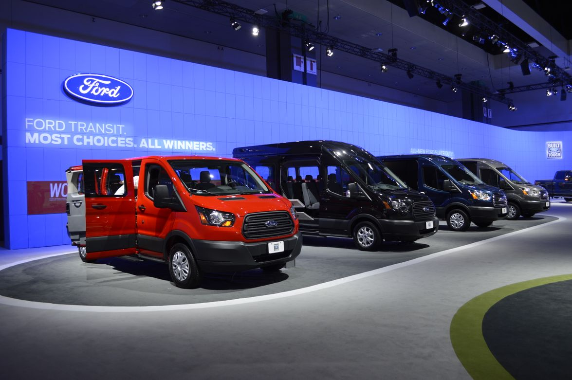 Ford Transit and Transit Connect vans