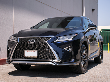 The RX is entering its fourth generation with a more aggressive front grille.