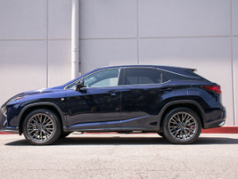 The 2016 RX 350 measures 192.5 inches in length.