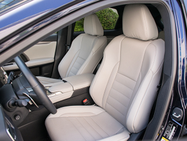 Heated and ventilated seats come with the F Sport package.