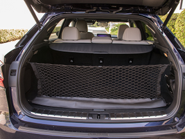 The vehicle provides 18 to 18.4 cubic feet or cargo space and up to 56.3 cubic feet with the...