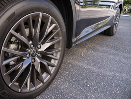 The 2016 RX 350 offers 20-inch wheels with Michelin's Premier LTX tires.