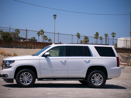 The 2016 Tahoe is two inches longer than the 2014 model.