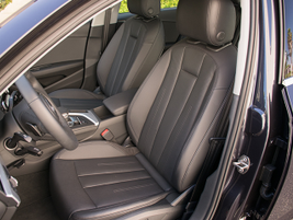 The driver's seat offers an eight-way power adjustable seat.
