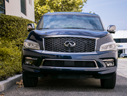 The QX80 gets an EPA-rated 13 mpg in the city and 19 mpg on the highway.