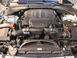 The XE 35t is powered by a supercharged 3.0L V-6 that makes 340 hp.