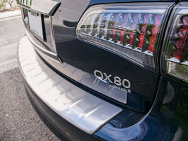 The QX80 offers a feature known as rear automatic self-leveling suspension that helps the...