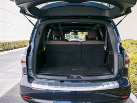 The vehicle offers 17 cubic feet of cargo volume.
