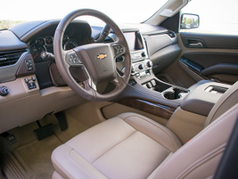 For 2016, the Tahoe adds power-adjustable pedals, forward collision alert, lane keep assist and...
