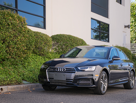 Audi's 2017 A4 remains on the B9 platform but adds a more efficient four-cylinder engine.