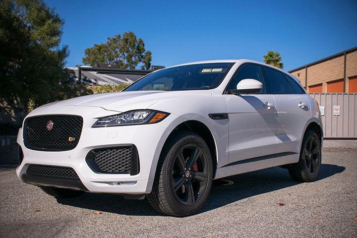 The 2017 F-Pace is available in six models, including the base, Premium, Prestige, R-Sport, S...