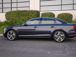 The 2017 A4 measures 186.1 inches in length, which is 1 inch longer than the outgoing model.