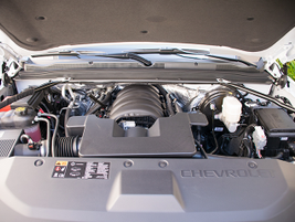 The Tahoe is powered by a 5.3L V-8 EcoTec3 engine.