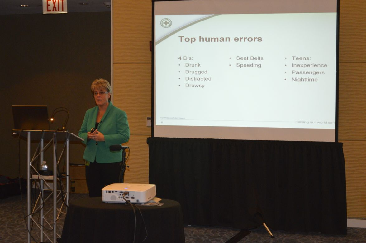 This third panel addressed attentive driving, which was presented by Kelly Nantel, VP for...