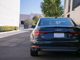 The lightest 2017 A4 weighs 3,483 pounds, which is 100 pounds less than the lightest 2016 A4.