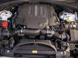 The S is powered by a supercharged 3.0L V-6 that makes 380 hp.