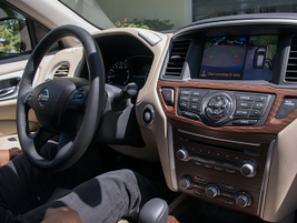 The 2017 Pathfinder offers the Advanced Drive-Assist Display that features additional...