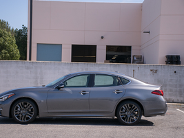 The Q70 is 7.6 inches shorter than the Q70L.