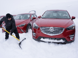Wintery conditions provided a real-world test of AWD capabilities.