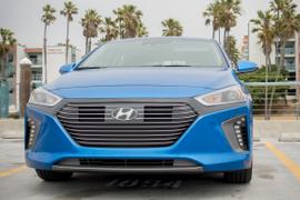 Hyundai's 2017 Ioniq Hybrid