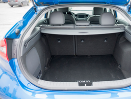 The sedan offers 26.5 cubic feet of cargo space.