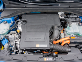 A 1.6-liter four-cylinder is paired with a 32 kW electric motor fed by a 1.56 kWh lithium-ion...