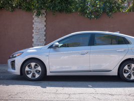At 176 inches in length, the Ioniq Electric is one of the longer electric vehicles.