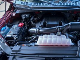 The new transmission is paired with the 3.5L EcoBoost V-6