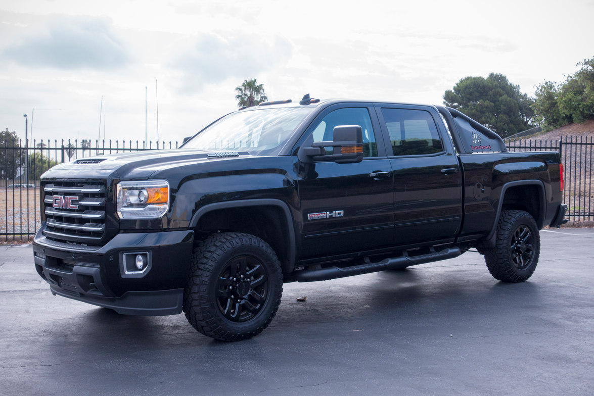 GMC's 2017 Sierra HD All Terrain X is based on the Sierra 2500.