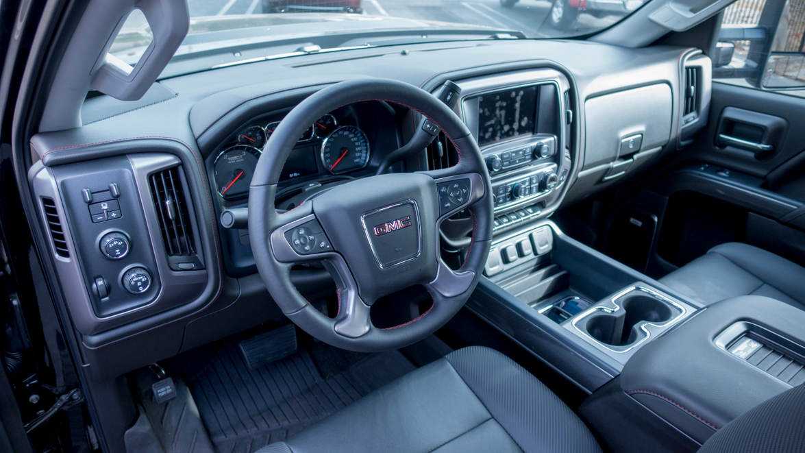 GMC interior appointments offer upgrades from the comparable Chevrolet Silverado. The truck...