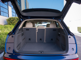 Cargo volume increases to 26.8 cubic feet and 60.4 cubic feet with the rear seats folded down.