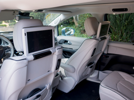 The Customer Preferred package includes a rear seat entertainment system.