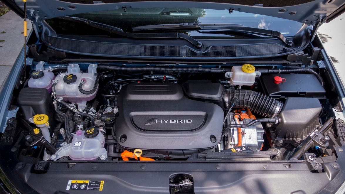 The vehicle combines a gasoline-powered 3.6L V-6, pair of electric motors, and 16-kWh...