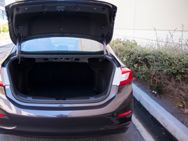The Cruze sedan offers 25 cubic feet of cargo space, which is 2 cubic feet more than the...