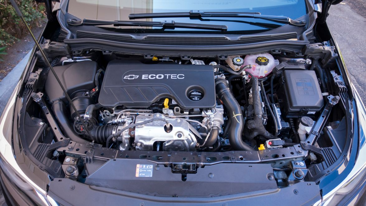 An Ecotec 1.6L turbodiesel makes 137 hp and 250 lb.-ft. of torque.