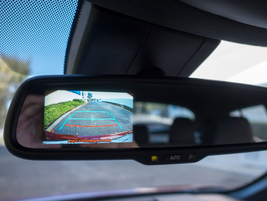 The C-HR XLE Premium includes an auto-dimming rearview mirror with an integrated backup camera.