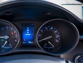A 4.2-inch TFT multi-information display offers customizeable settings.