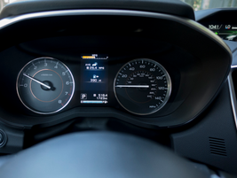 The 2.0i Limited offers a color LCD instrument cluster.