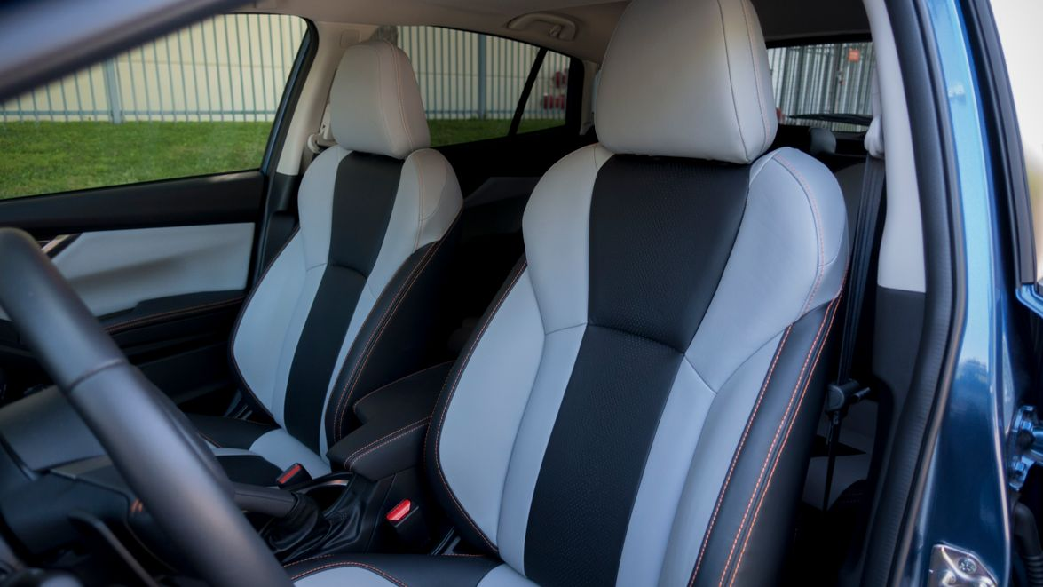 The vehicle provides up to 100.9 cubic feet of passenger space and additional stiching to give a...