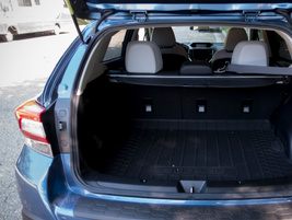 The 2018 adds cargo space from the 2017 model with up to 55.3 cubic feet when the rear seats are...