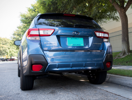 The vehicle is sold as the Subaru XV outside the U.S.