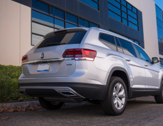 At 198.3 inches in length, the Atlas is among the larger mid-size SUVs.