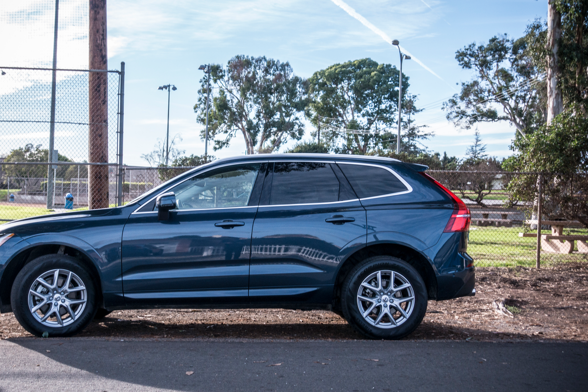 Volvo offers its XC60 in three trims, including Momentum (shown), R-Design, and Inscription.