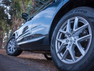 18-inch wheels are standard, 22s are optional.