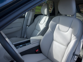 A 10-way power driver's seat provides a multitude of seating positions for longer drivers.